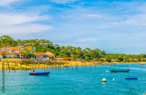 Fotografering  Coastline of Arcachon bay in France