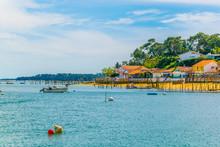 Coastline Of Arcachon Bay In F...