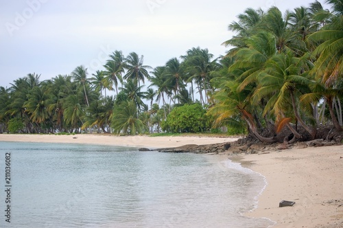 Beautiful Tropical Beach in the Marshall Islands Wallpaper Mural