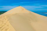 Dune du Pilat, the biggest sand dune in Europe, France