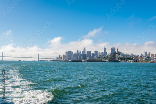 Foto op Plexiglas Amerikaanse Plekken Skyline of San Francisco, California, USA