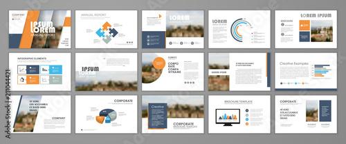 Fotografía  Corporate slideshow templates