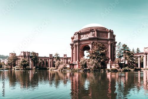 Keuken foto achterwand San Francisco Palace of Fine Arts in San Francisco, USA.