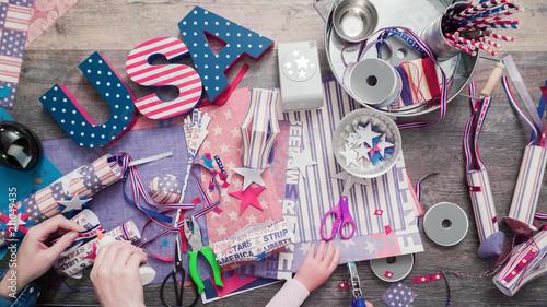 Paper craft project Fototapet