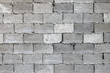 Grey brick wall (cinder block), texture