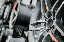 Close Up Of Rims From A Sports...