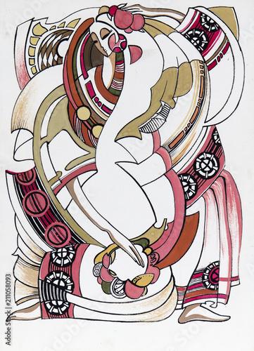 akwarela-malarstwo-akwarela-ilustracja