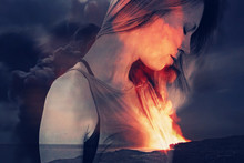 Inner Fire , Passion Concept. ...