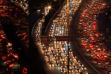 Traffic Jam High Angle