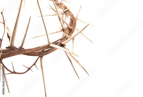 Cuadros en Lienzo crown of thorns and cross