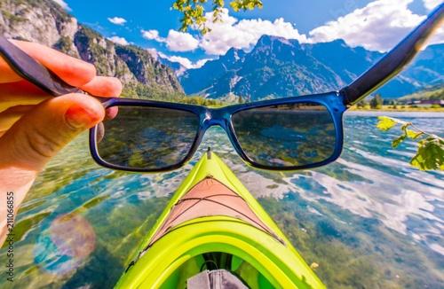 Fotografie, Obraz  Kayaking in the Sun