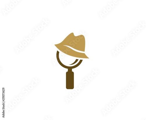 Cuadros en Lienzo Detective logo