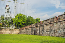 Fort Cornwallis In Georgetown, Penang, Is A Star Fort Built By The British East India Company In The Late 18th Century, It Is The Largest Standing Fort In Malaysia