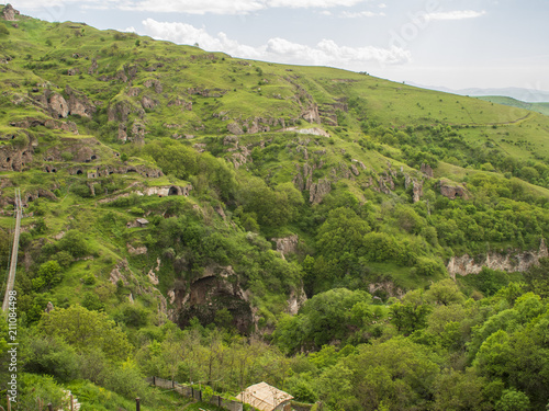 Poster Natuur Caves Village of Khndzoresk in the Syunik Province, Armenia 18