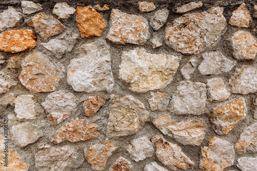 Deurstickers Stenen Natural background of stone texture