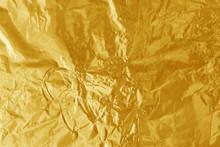Gold Foil Leaf Shiny Texture, ...