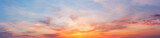Fototapeta Na sufit - Colorful sunset twilight sky