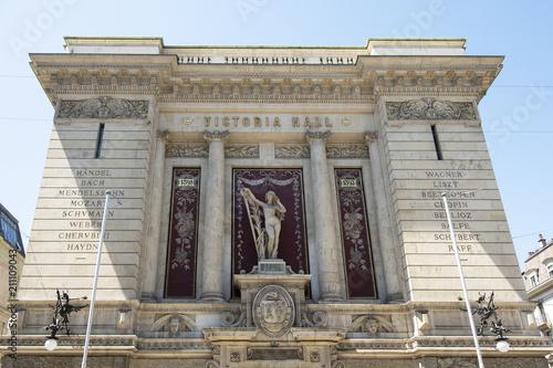 In de dag Theater Konzertgebäude