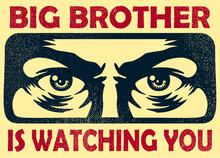 Vintage Big Brother Watching Y...