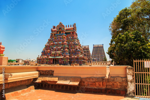 Edifice religieux Temple of Sri Ranganathaswamy in Trichy.