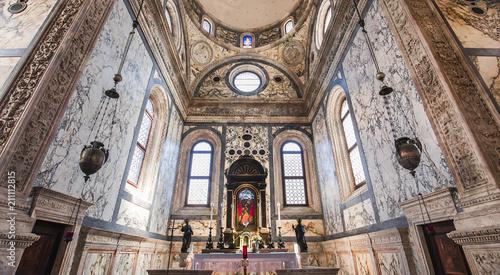 Fototapeta Santa maria dei miracoli church, Venice, italy