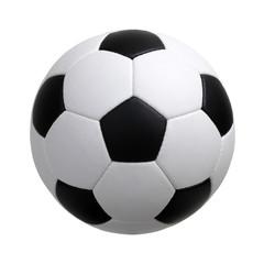 nogometna lopta na bijelom