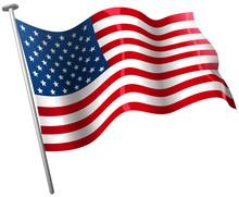 American Flag Illustrations