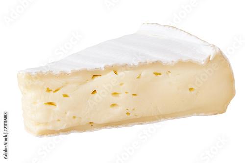 Obraz na płótnie healthy,yellow,isolated,camembert,white,background,piece,soft,slice,product,fren