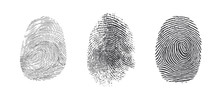 Finger Print Vector Icons Set ...