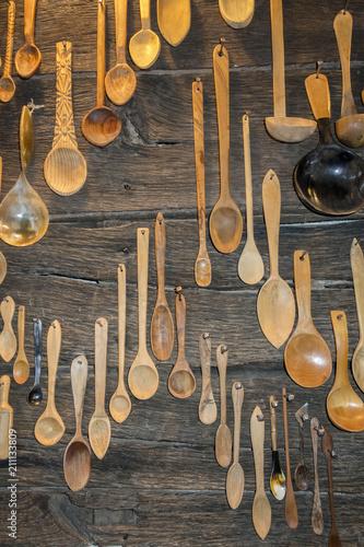 Fotografía  cucharas de madera