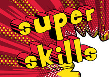 Super Skills - Comic Book Word...