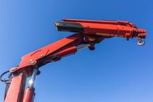 Rigging Truck Hydraulic Arm Crane