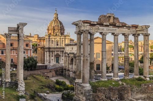 Photo Roman Forum in Rome, Italy