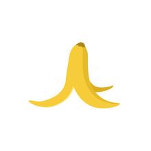 Banana Peel Illustration