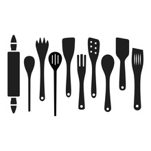 Cooking Wooden Kitchen Tools S...
