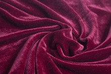 Red Velvet Fabric With Spiral ...