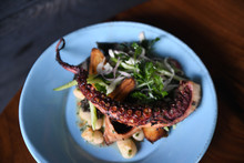Grilled Octopus With Gnocchi