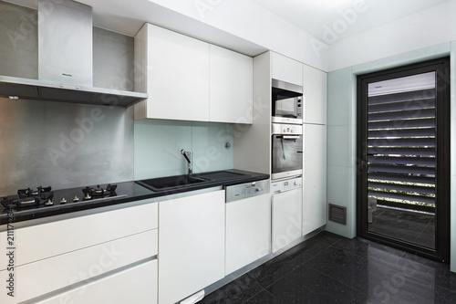 Fotografija Interior de casa cozinha Moderna