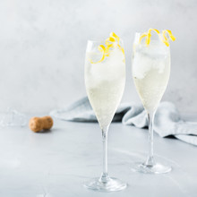 Alcohol Drink Champagne Cocktail For Summer Days