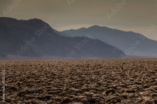Spoed Foto op Canvas Diepbruine Death Valley, California