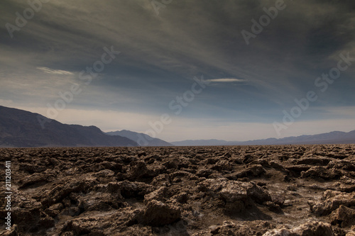 Poster Chocoladebruin Death Valley, California