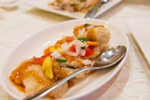 Crispy Fish Fillet In Sweet An...