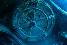 An Underwater Shot Inside A Ro...