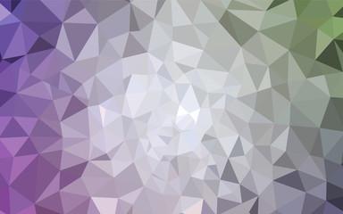 Light Pink, Green vector abstract mosaic backdrop.
