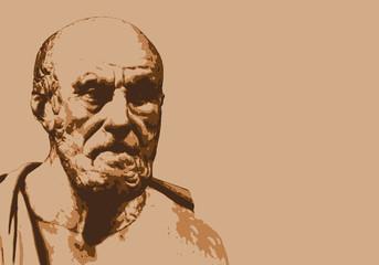 Hippocrate - médecine - portrait - personnage célèbre - personnage - historiq...