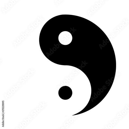Yin&Yang Fototapeta