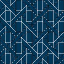 Blue Geometric Pattern Vector....