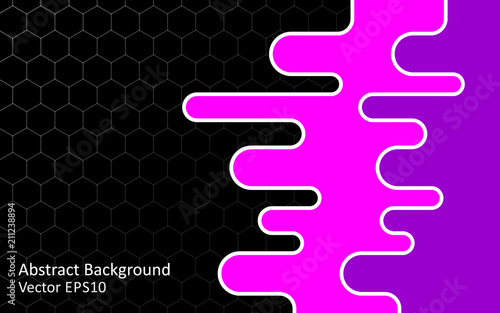 Foto op Canvas Abstractie Art Abstract vector background, template design