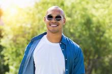 African Man Wearing Sunglasses