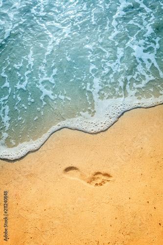 Photo sur Toile Plage Sand beach in BVI